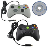 50pcs USB Gamepad Game Controller for PC 360 Joystick compatible for xbox 360 PC