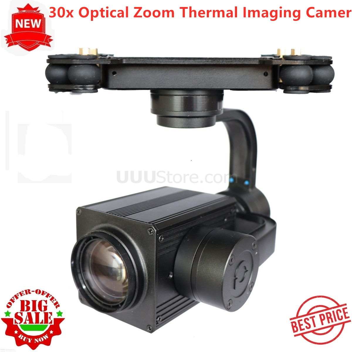 US $1765 8 |5 30KM 30x Optical Zoom Thermal Imaging UAV Drone Infrared  Camera & 3 Axis Stabilizer And Automatic Tracking-in Parts & Accessories  from