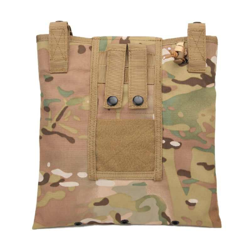Magazine Recycling Bags Sundries Nylon emerson Tactical Drop Pouch Airsoft Military Multicam Camouflage Folding Bag Hot 2018