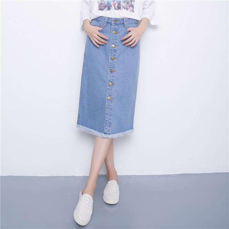Popular Soft Denim Skirt Long-Buy Cheap Soft Denim Skirt Long lots ...