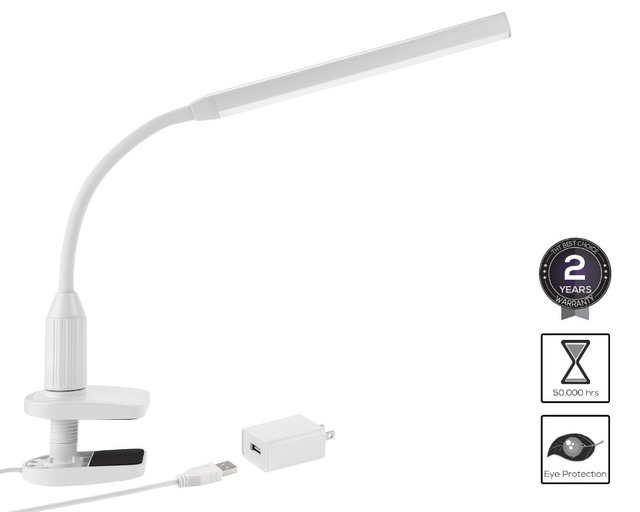 Aliexpress.com : Buy LED Eye Protect Clamp Clip Light Table Lamp ...