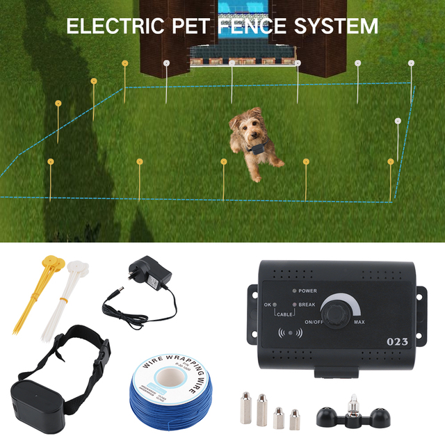 ht 023 pet fence dog underground electric fencing system in ground dog fence shock