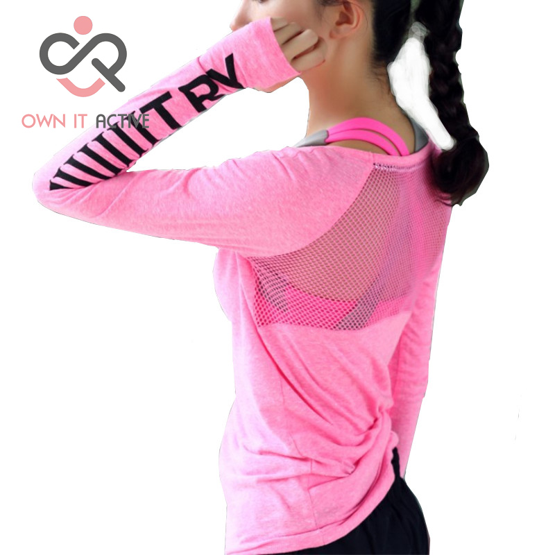 Sexy Hollow Fitness Breathable Sportswear Women T Shirt Sport Suit Yoga Top Quick-Dry Running Shirt Gym Sport Shirt Jacket P189 fitness breathable sportswear women t shirt sport suit yoga top quick dry running shirt gym clothes sport shirt jacket p189
