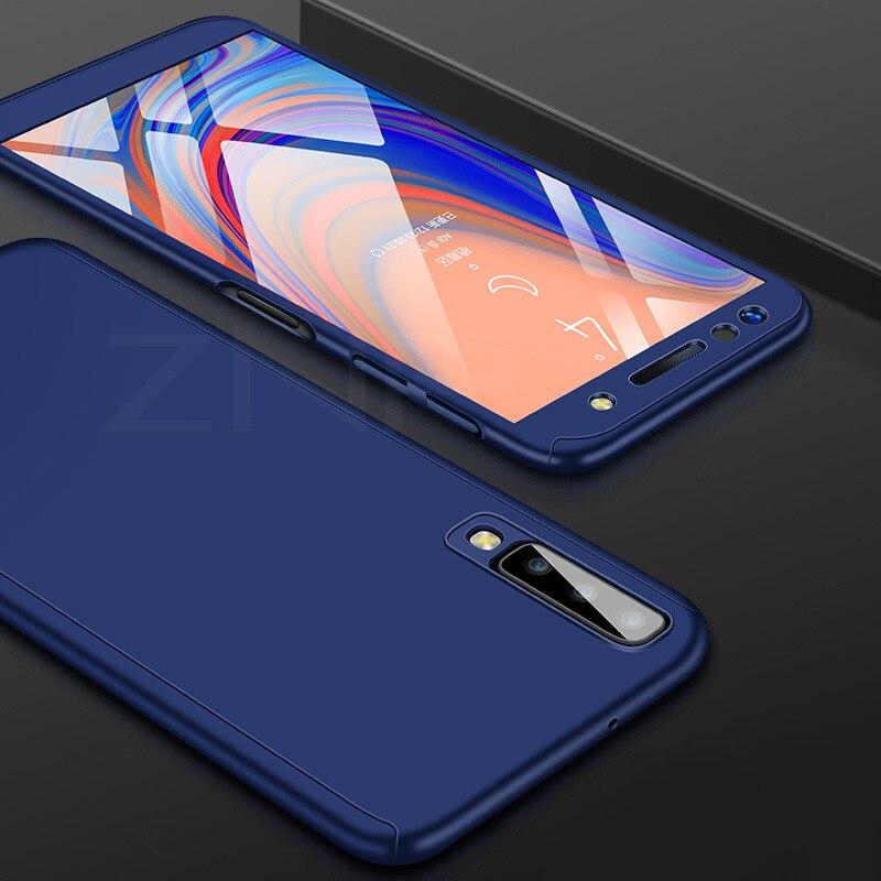 360 Full Cover Case For Samsung Galaxy A90 A70 A60 A50 A40 A30 A20 A20E A10 Protection Case For Samsung M10 M20 M30 A50 Case