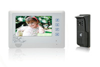 7 inch TFT Monitor 600TVL Camera Intercom Video Door Phone