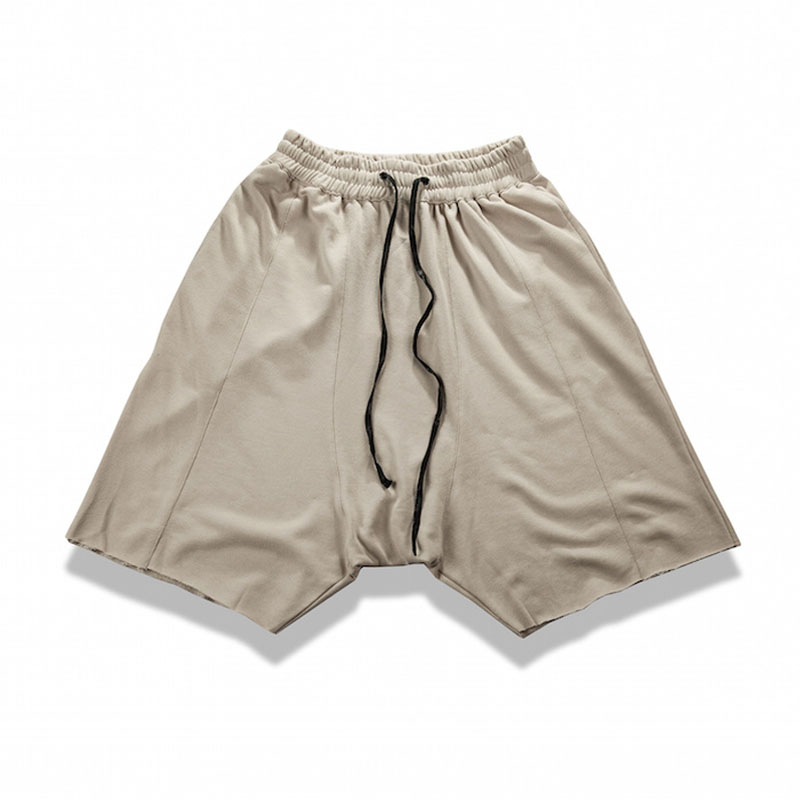 Hip Hop Raw Edges Wild Man Cozy Shorts 5