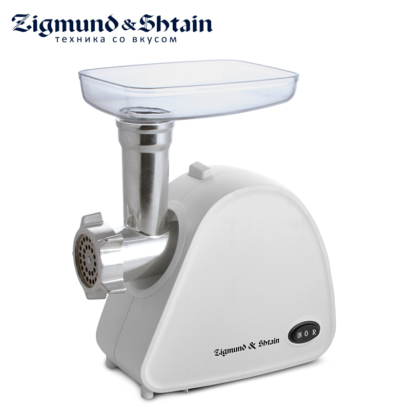 Zigmund & Shtain ZMG-006 Meat Grinder 1600W 1.9 kg/min Engine with reduced noise level Motor protection against overload