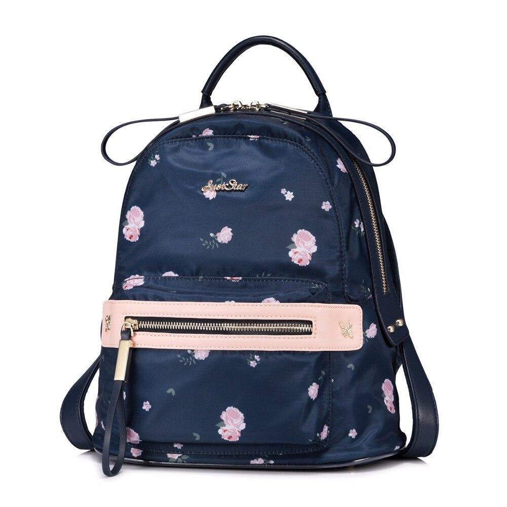 female school bags Nylon water proof 2017 new fashion casual Korean soft student bag travel backpack niko black 21 23 26 ukulele bag silver edge nylon soprano concert tenor soft case gig bag 5mm thick sponge
