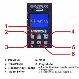 Image 4 - FREEBOSS SMR8 Bluetooth USB nagrywanie 8 kanałów (4 Mono + 2 Stereo) 16 efektów DSP USB profesjonalny konsoleta DJ