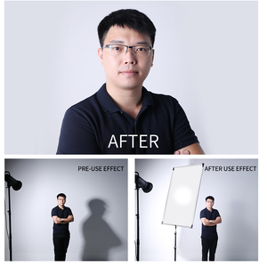 Image 4 - 90 x 120cm 35in x  47in Sun Scrim Large 5in1 Black Silver Gold White Diffuser Reflector Aluminum Alloy Frame for Photography