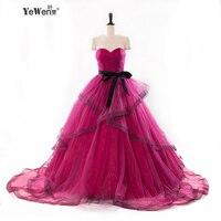 Luxury Pregnant Bridal Gown Fluffy Cloud Long Train Crystal Wedding Dress 2016 Robe De Mariage Prices