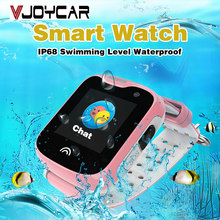 Best GPS Tracker Watch For Children Kids Camera Phone Call SOS Free Tracking Software APP History Playback Anti Lost Locator(China)