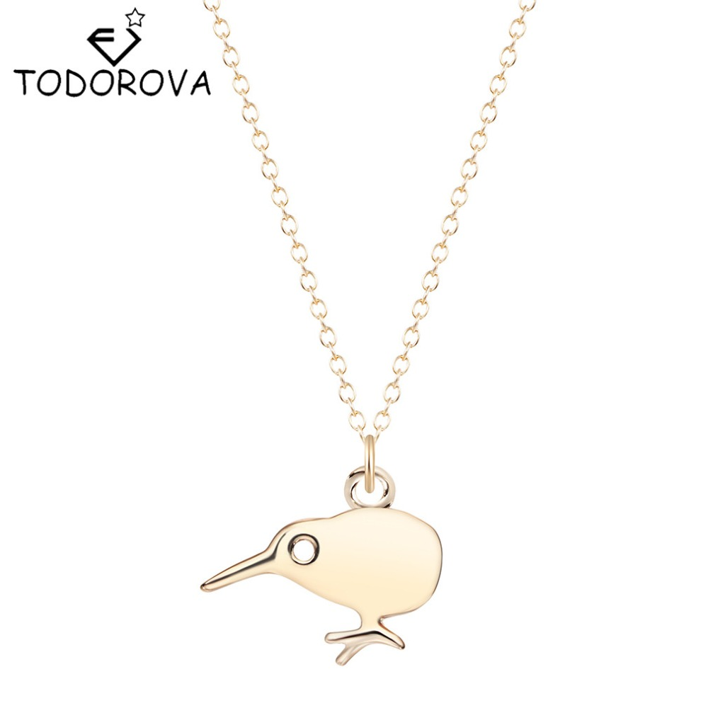 gold golden bird necklace products clara francis