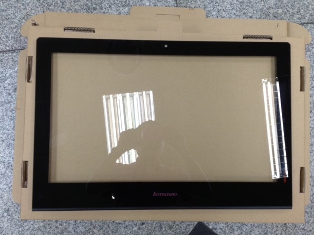 """Prix pour 100% new original 23.0 """"pouces Tout-en-un en dehors du verre écran Pour lenovoe B520 B520E B520R2 B540 B545 B540P avant cadre verre"""