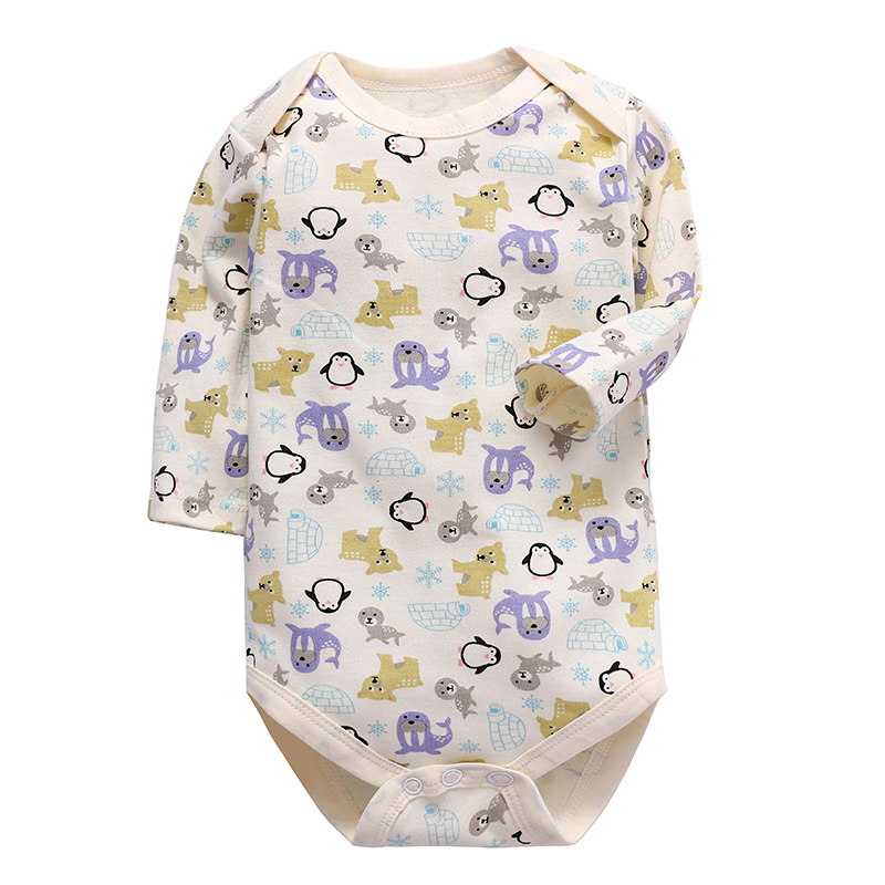 Babies Girls Clothing Bodysuit Newborn Baby Boys Long Sleeve Body 100% Cotton 3 6 9 12 18 24 Months Clothes