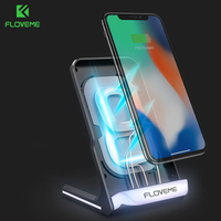 FLOVEME Qi Wireless Charger For IPhone 8 8Plus X Wireless Charger For Samsung Galaxy S9 S8