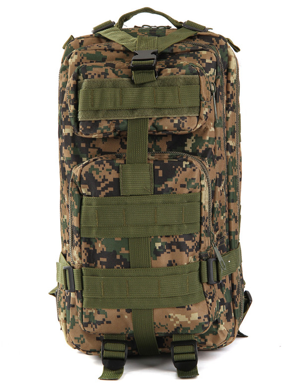 New Arrival Outdoor Military Army Tactical Backpack Sport Gym Bag Travel Rucksacks Camping Hiking Trekking Camouflage Bag