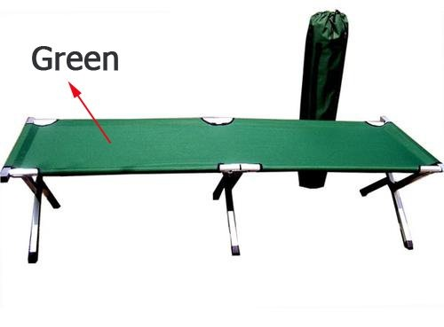 ... Free Shiping ALUM ARMY CAMPING COT FOLDING BED Portable ...