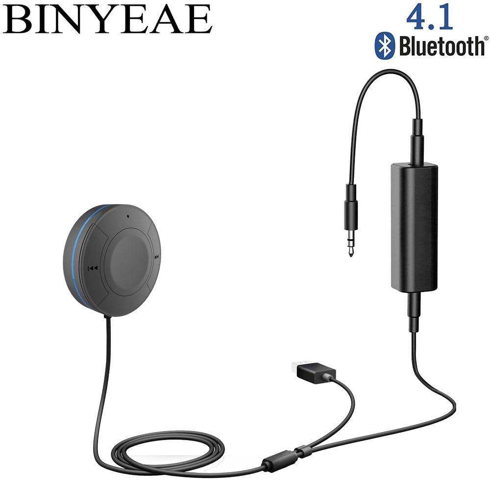 Tragbares Audio & Video Ausdauernd Bluetooth 4,1 Freisprecheinrichtung Aux 3,5mm Usb Car Kit Wireless Stereo Auto Audio Adapter Musik Empfänger Mit Boden Schleife Lärm Isolator Unterhaltungselektronik