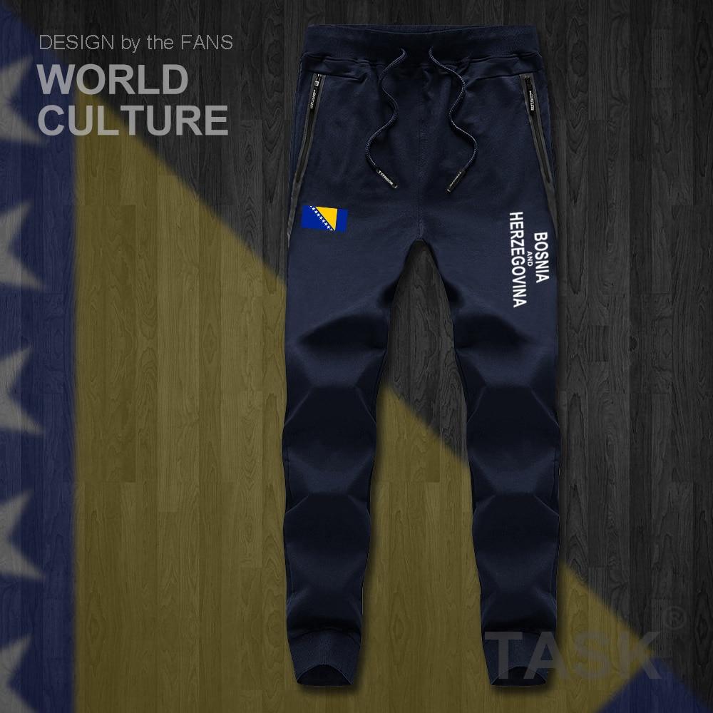 Bosnia And Herzegovina BIH Bosnian Herzegovinian Mens Pants Jumpsuit Sweatpants Track Sweat Fitness Fleece Nation Leggings New