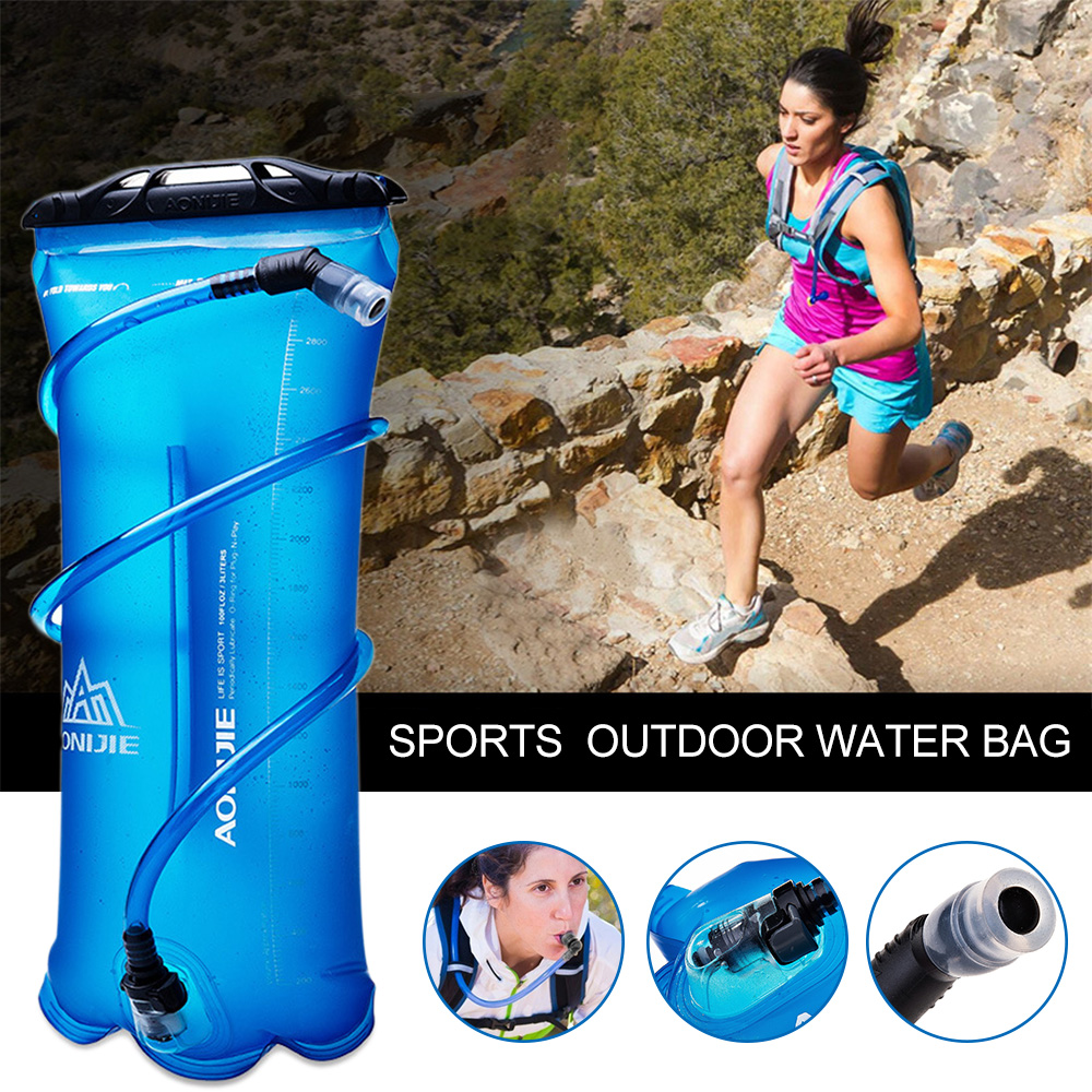 1.5L/2L/3L Outdoor Climbing Water Bags Bicycle Riding Camping Hiking Outdoor Sports Water Bladder Bag Pack Backpack Water Bag