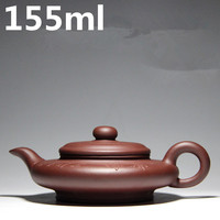 Authentic Teapots Handmade Zhisha Teapots 155ml Masters YiXing Tea Set Chinese Clay Tea Pot Kung Fu