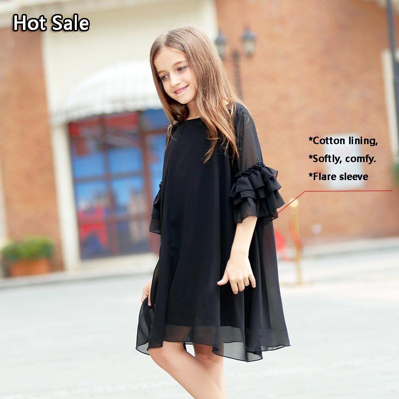Comprar vestido negro nina