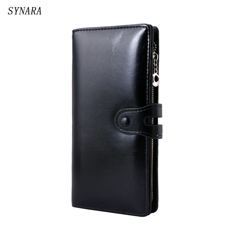 Real Genuine Leather Women Wallets Brand Design High Quality 2017 Cell phone Card Holder Long Lady Wallet Purse Clutch nawo real genuine leather women wallets brand designer high quality 2017 coin card holder zipper long lady wallet purse clutch