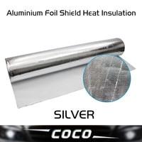 100cm*800cm Aluminium Foil Shield Heat Insulation inflaming retarding Waterproof and mildew proof ceiling roof wall floor