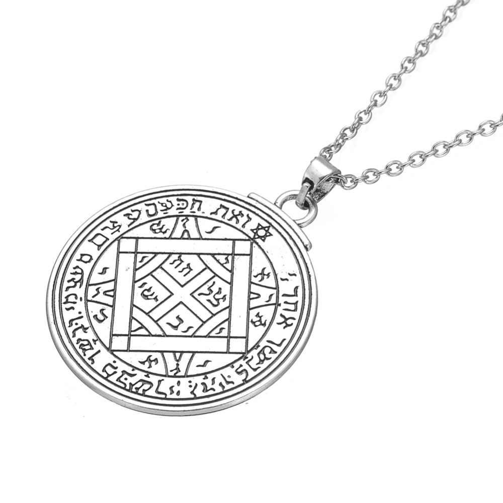 Mój kształt talizman wenus Solomon Seal wisiorek wiccan pentagram miłość naszyjnik