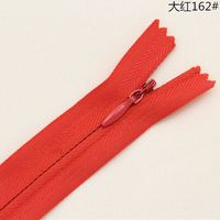 60PCS Red Nylon Invisible Zippers Tailor Sewing Accessories