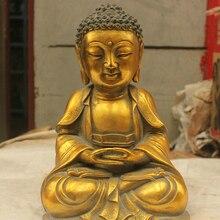 Китайская народная культура ручной работы бронзовая латунная статуя скульптура быстрая