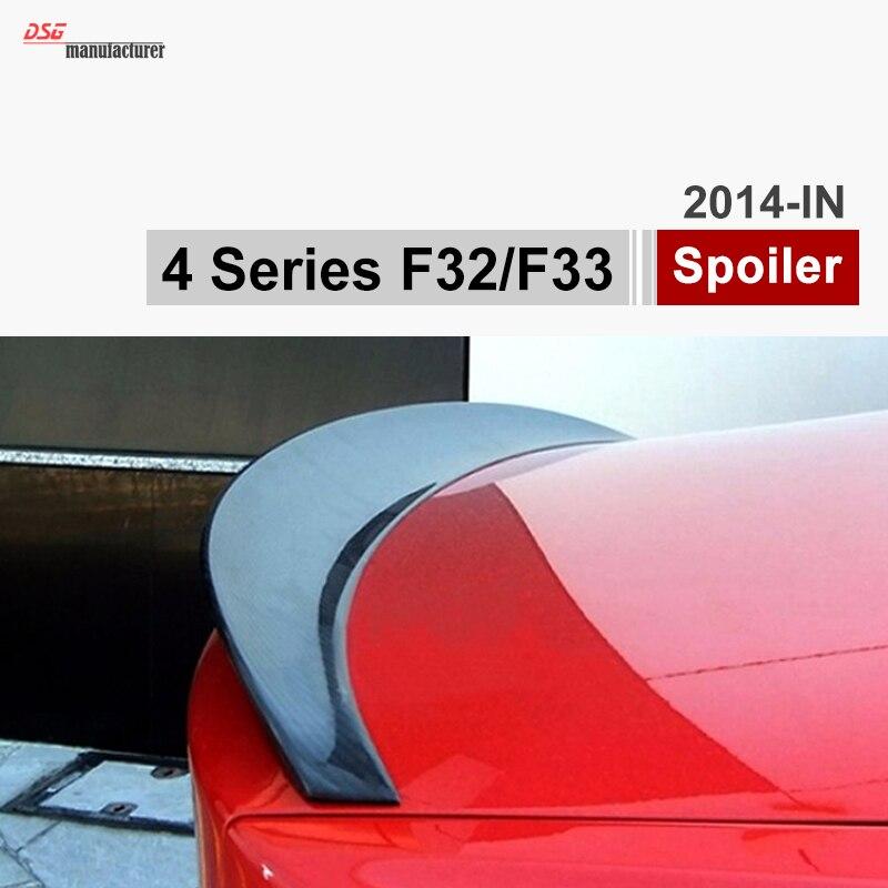 F32 M-performance carbon fiber car wing trunk spoiler for BMW 4 Series F32 coupe / F33 Cabriolet 420i 428i 435i 420d 420i 420d