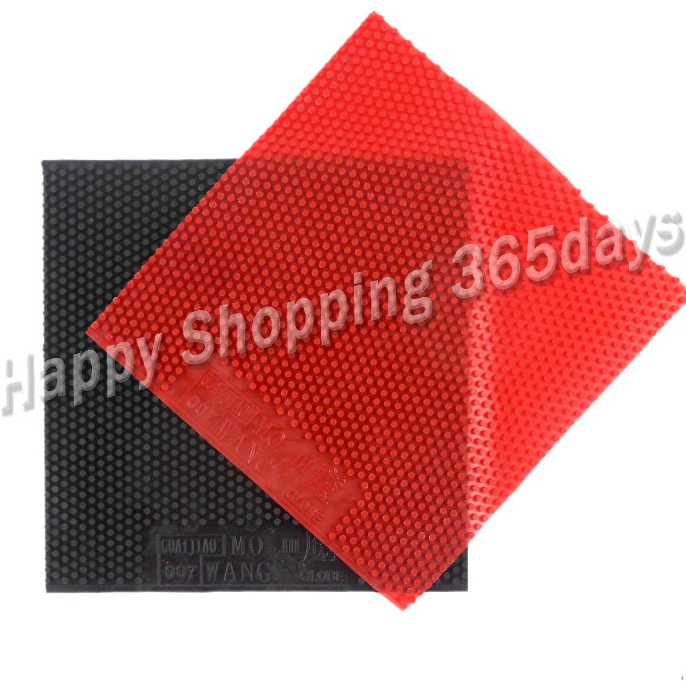 Globe MO WANG III ( OX, Super Big Pips, No ITTF ) Long Pips-out Table Tennis / Pingpong Top Sheet (rubber Without Sponge)