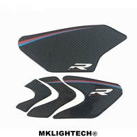 2017 carbon fiber for BMW motorcycle accessories decal sticker tank pad for BMW S1000R HP4
