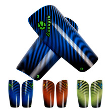 цена на Kuangmi 1 Pair Soccer Shield Adults Kids Football Shin Guard Leg Support Protector Shin Pads