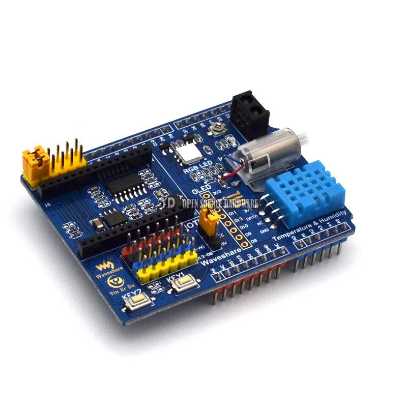 Intelligent Cloud home control board function board can be connected to the NUCLEO UNO development board WIFI|can board|can controller|  - title=