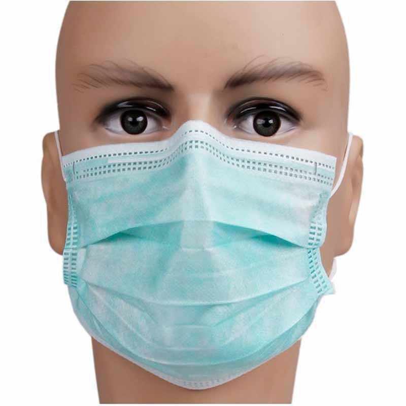 Dental Disposable Loop Flu Medical Ear Pcs Face Mask Dust 50