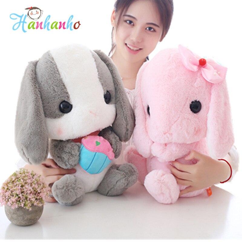 Cute Long Ears Cute Bunny Plush Toy Rabbit Stuffed Animal -7498