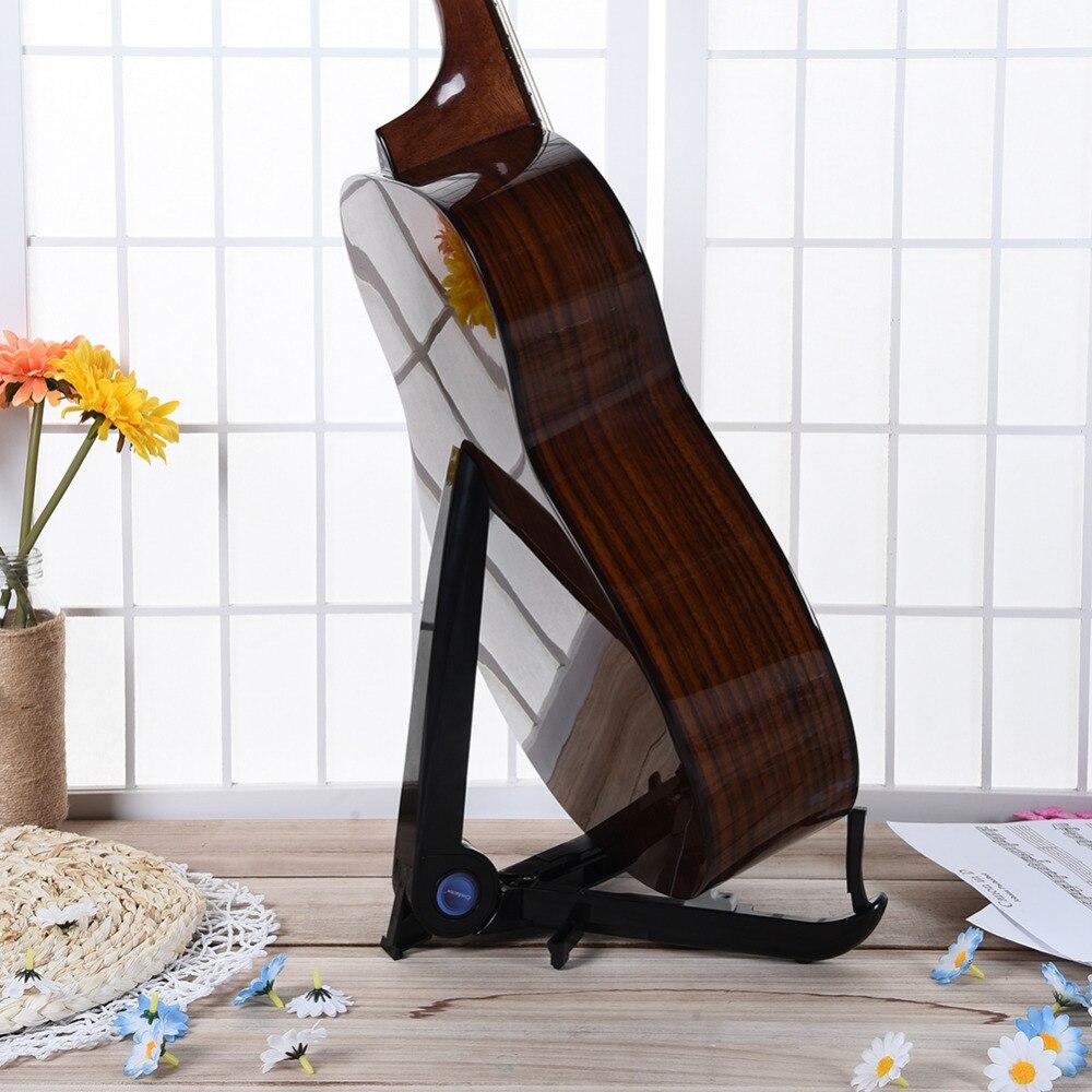 Soporte para ukelele para guitarra plegable Soporte para instrumento portátil Soporte para violín para ukelele / Soporte para guitarra de 39-40 pulgadas / Guitarra para 41 pulgadas