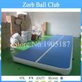 Envío gratis 8 x 2 m aire inflable Tumble pista, inflable gimnasio pista de aire estera