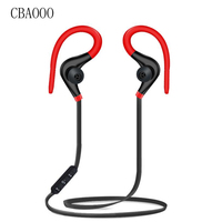 Bluetooth Earphones Stereo Sport Wireless Bluetooth Headset Ear Hook With Mic Handsfree Bass Headphone For Mobile