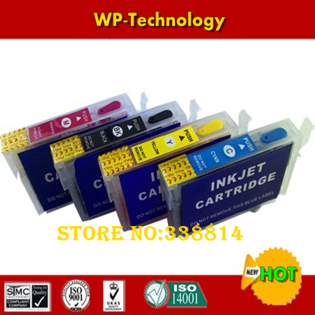 Full Ink Refill cartridge suit for T2001 - T2004,suit for <font><b>Epson</b></font> WF-2520 2530 2540 <font><b>XP</b></font>-200 100 300 <font><b>400</b></font> ,With ARC Chips image