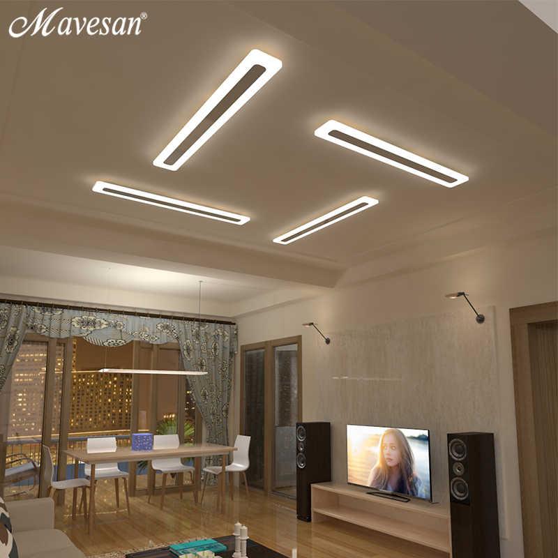 Акриловые светодиодные потолочные светильники для прихожей, для гостиной, плафон, домашнее освещение, потолочный светильник, домашнее освещение, светильники, современный балкон