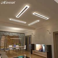 Acrílico corredor led luzes de teto para sala estar plafond casa iluminação da lâmpada do teto homhome luminárias varanda moderna
