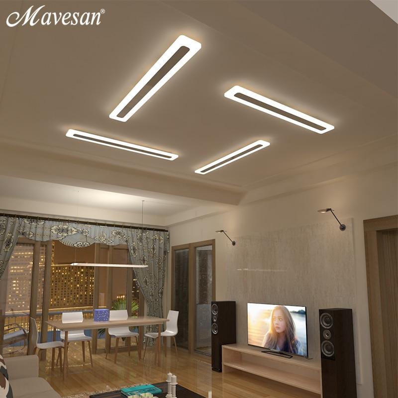 Mavesan Acryl Flur led-deckenleuchten für wohnzimmer Plafond hause Beleuchtung decke lampe homhome leuchten Moderne
