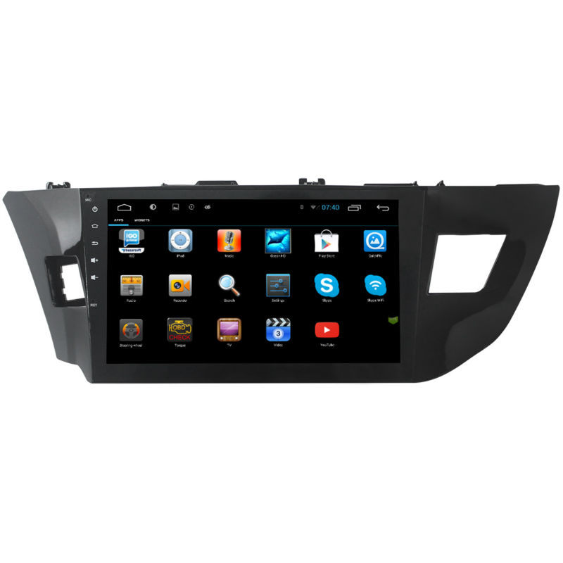10 1 inch quad core HD1024 600 Android 4 4 Car DVD GPS For Toyota LEVIN