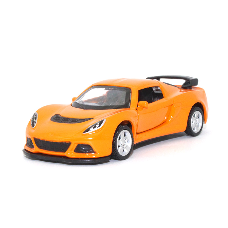 TC 1:64 Lotus Cars Diecast Alloy Car Model Open The Door