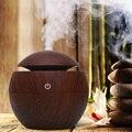 Casa usb aroma difusor de óleo essencial ultra-sônico umidificador ar mini purificador 7 mudança cor led night light para casa escritório