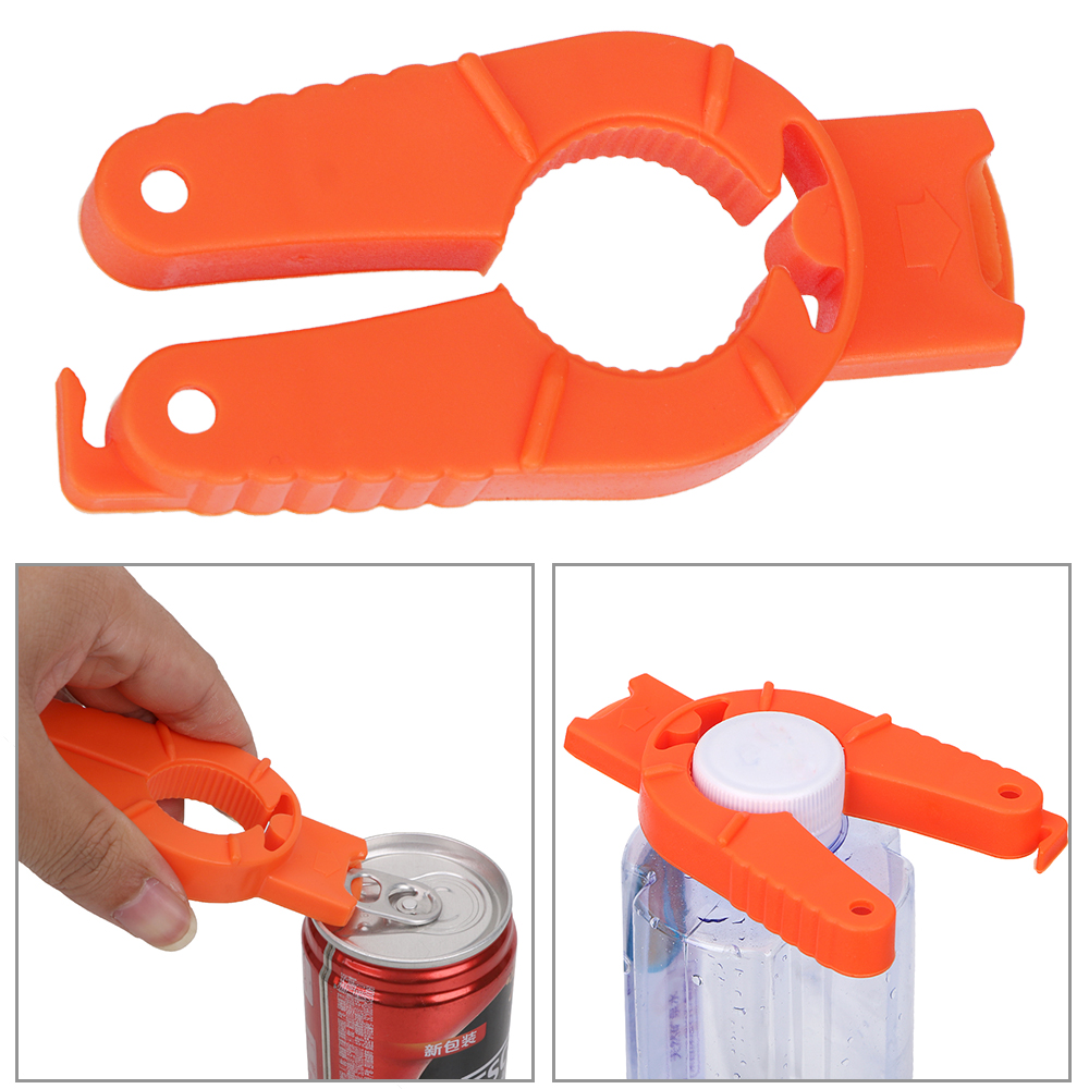 Bottle Opener Plastic Can Opener Creative Multifunctional Canned Drink Kitchen Gadgets Manual Non-slip
